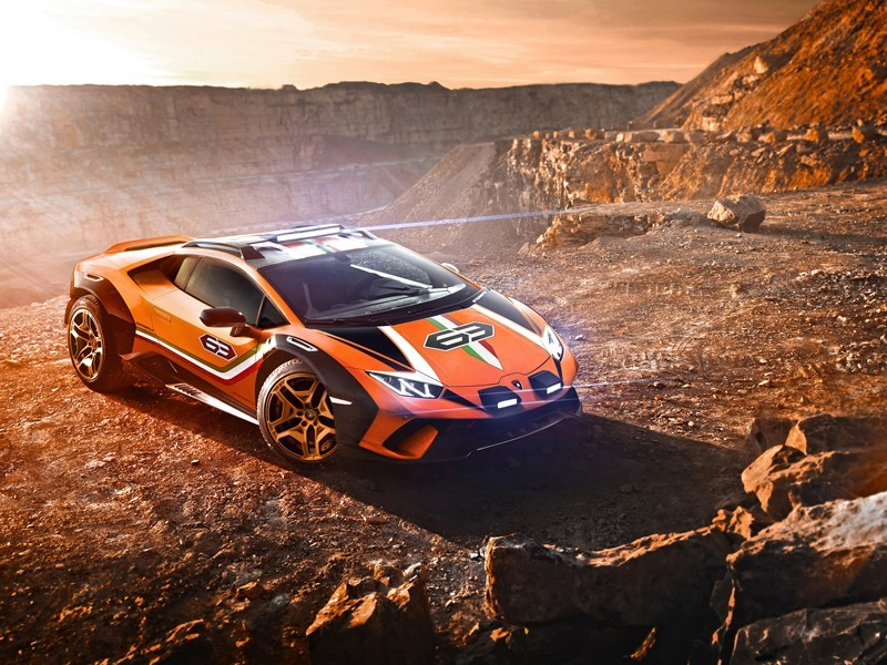 "Lamborghini conquers new territory with the ""Huracán Sterrato"" Concept"