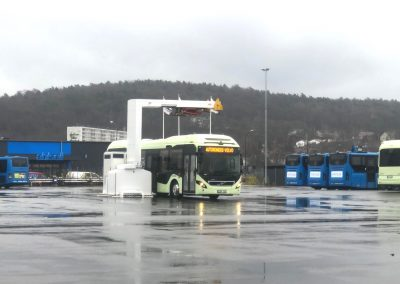 Bus Volvo in Gothenburg_Sweden